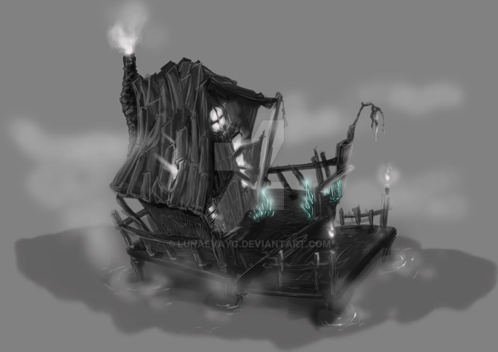 Concept for a personal project by LunaEvaYG