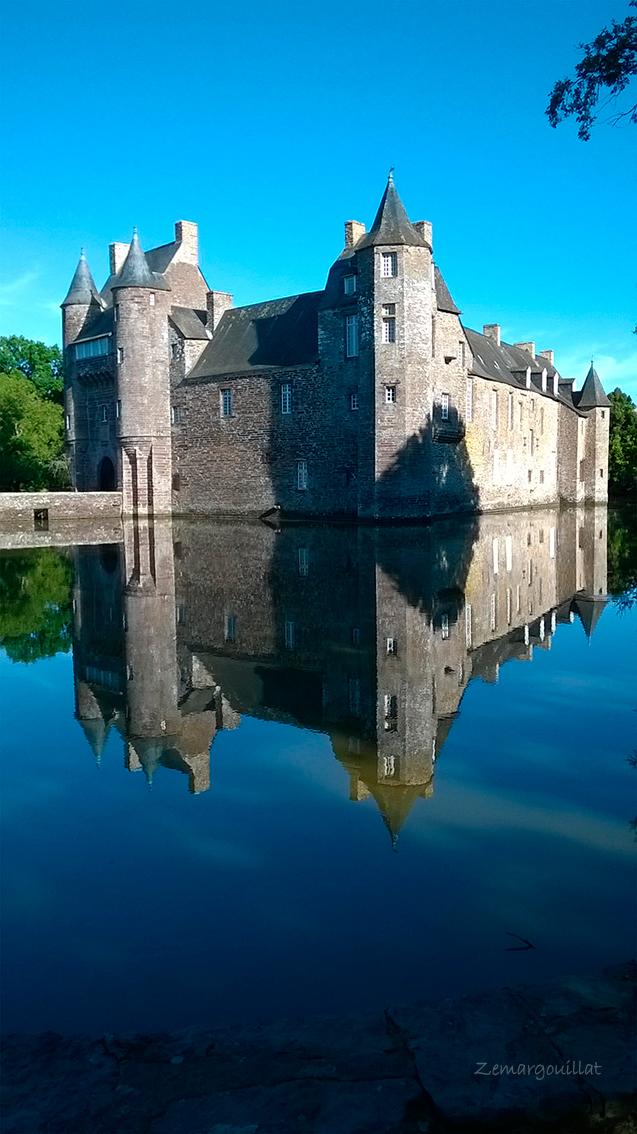 Bretagne - Chateau de Trecesson by ZeMargouillat