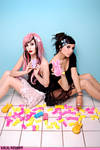 Hanna Beth and Audrey Twiggy by Klariza