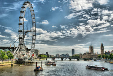 Westminster and the Eye by dantordjman