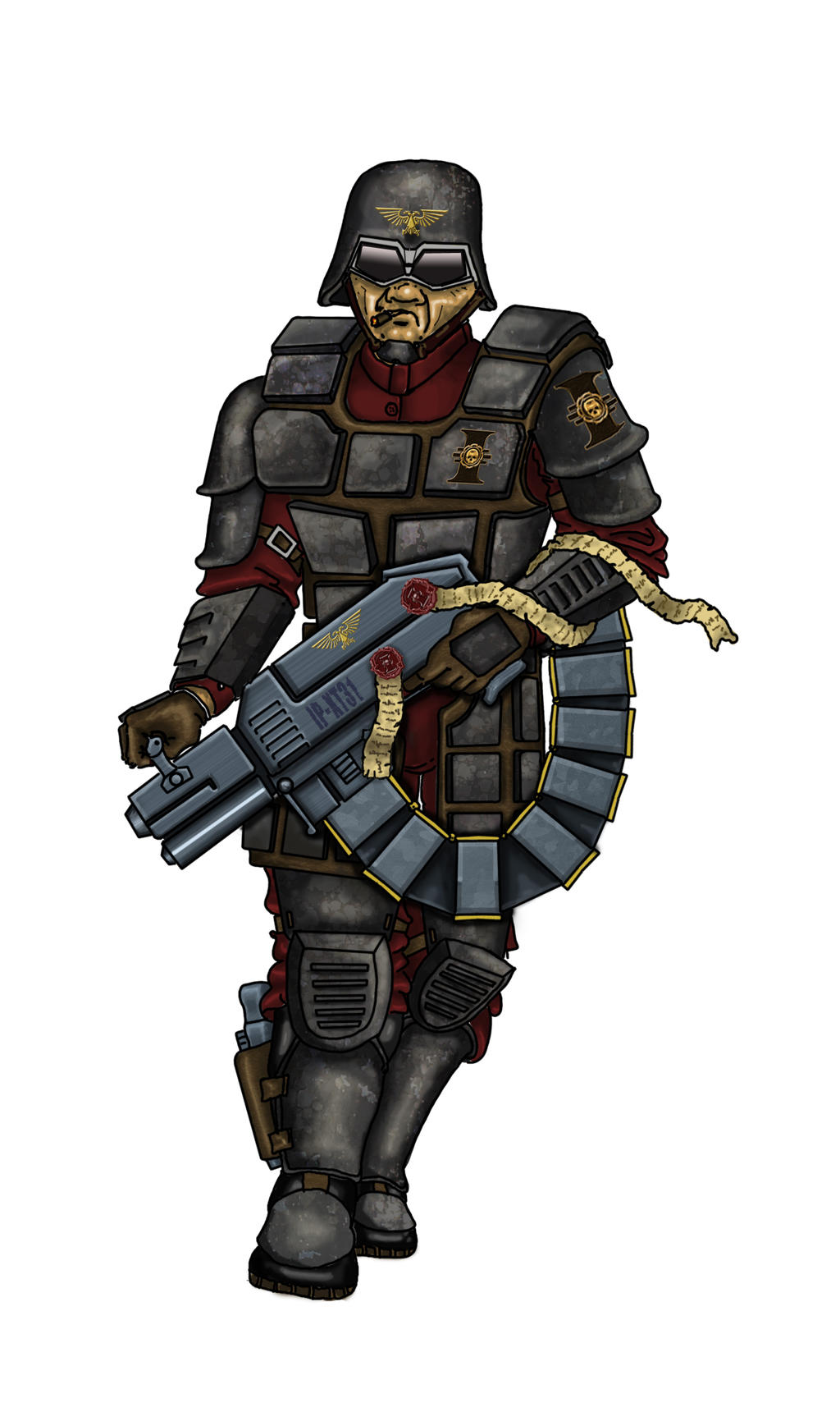 Inquisition-Guardsman by winterfluss