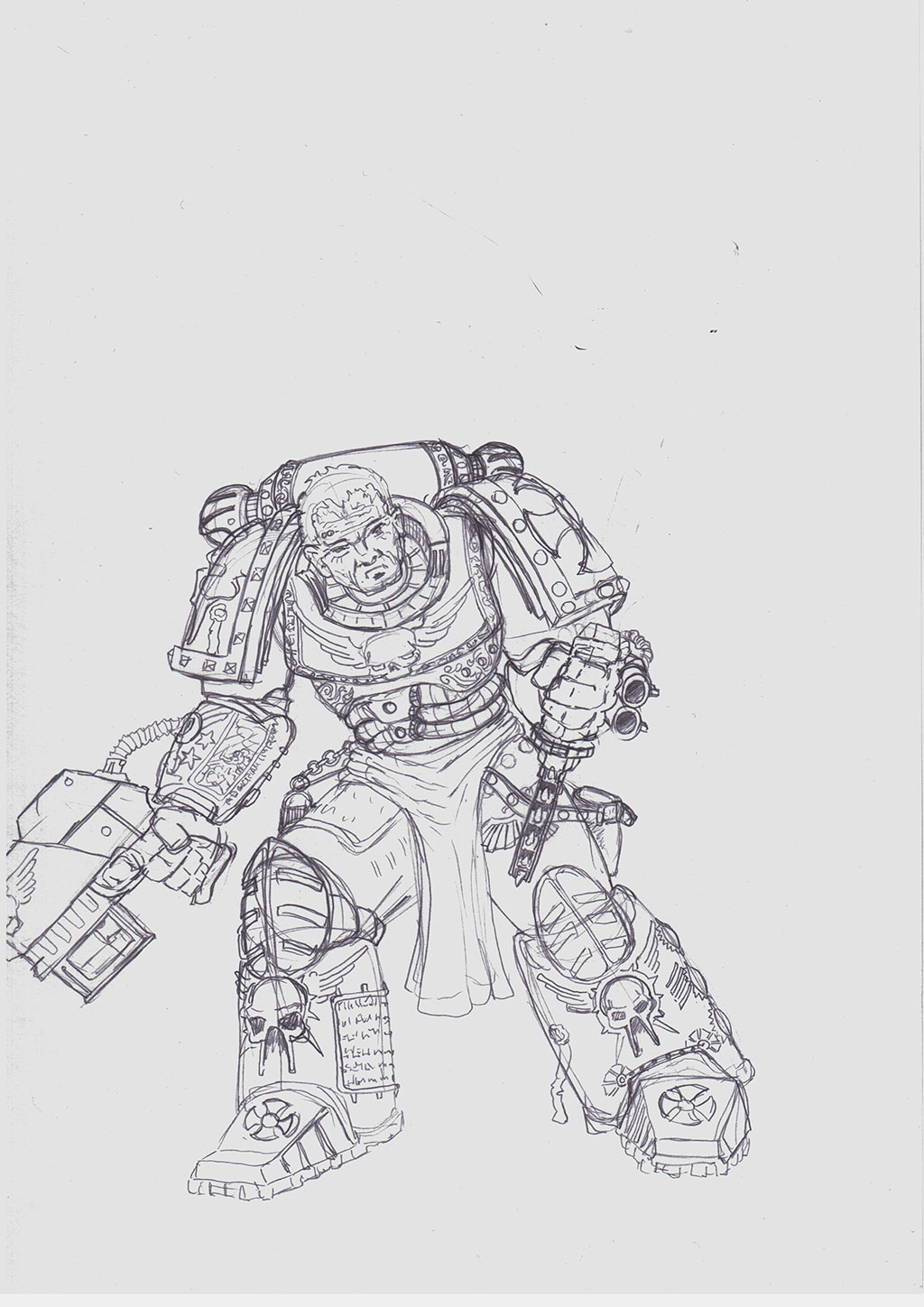 Space-marine-crusader by winterfluss
