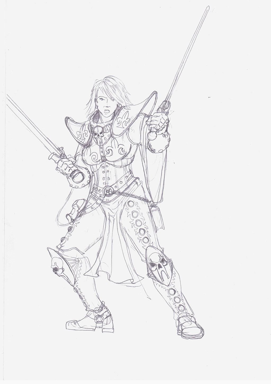 battle sister by winterfluss