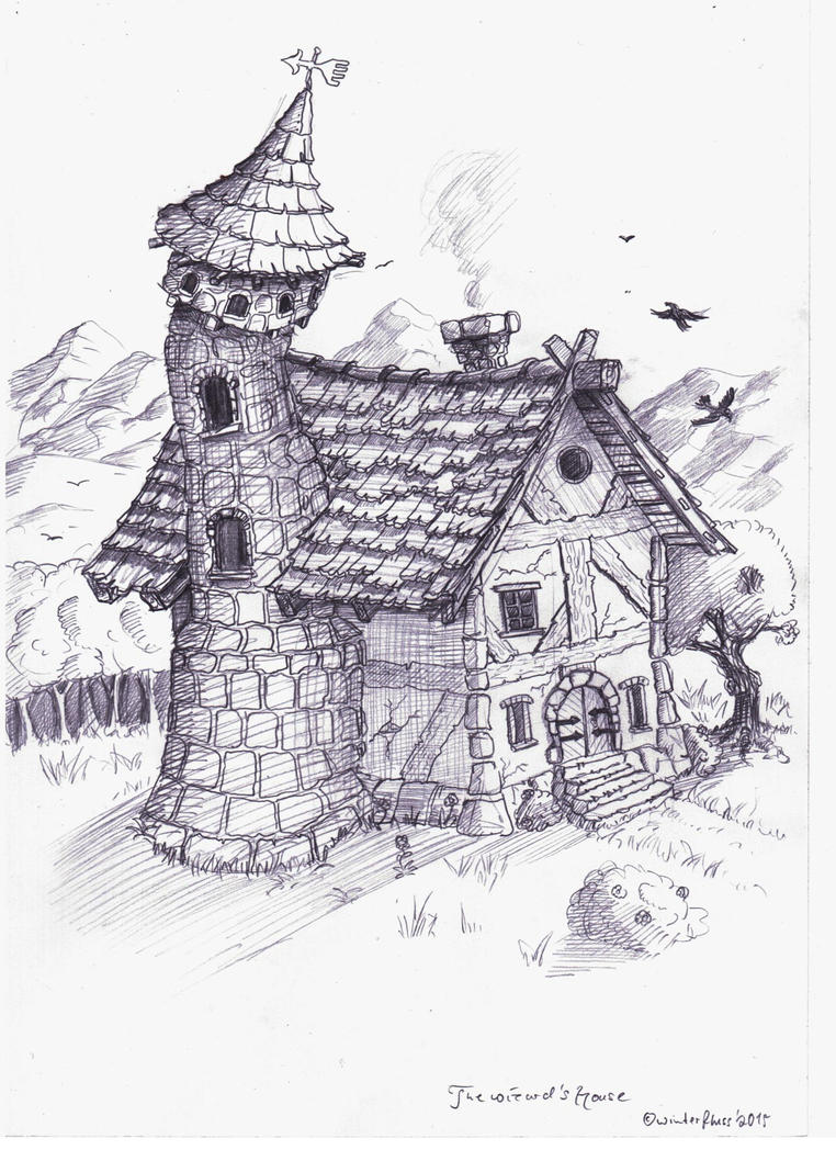 The wizard's house by winterfluss
