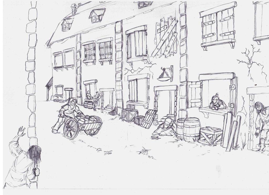 Altdorf Back street raid by winterfluss