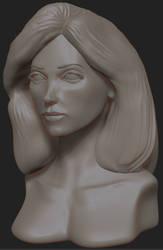 Head Study 8 by 4colorgrafix