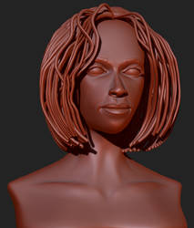Head Study 10 by 4colorgrafix