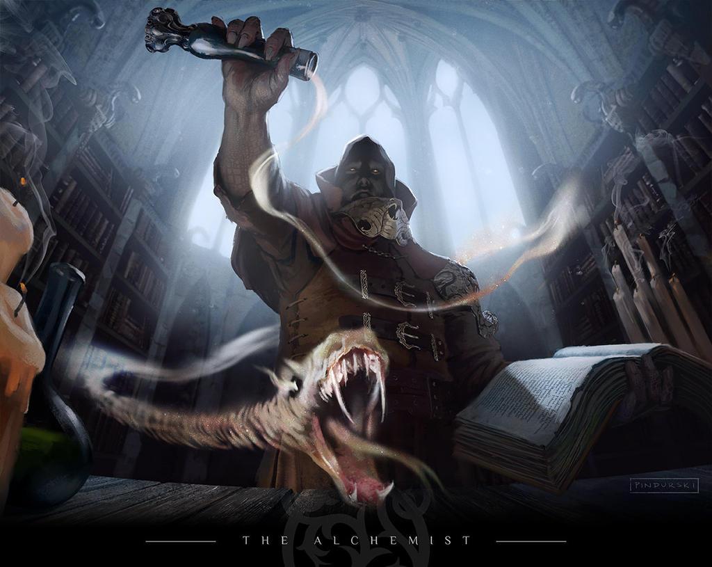 The Alchemist by pindurski