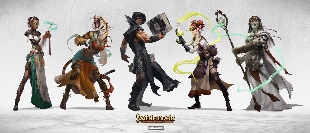 Pathfinder: HorrorAdventures by pindurski