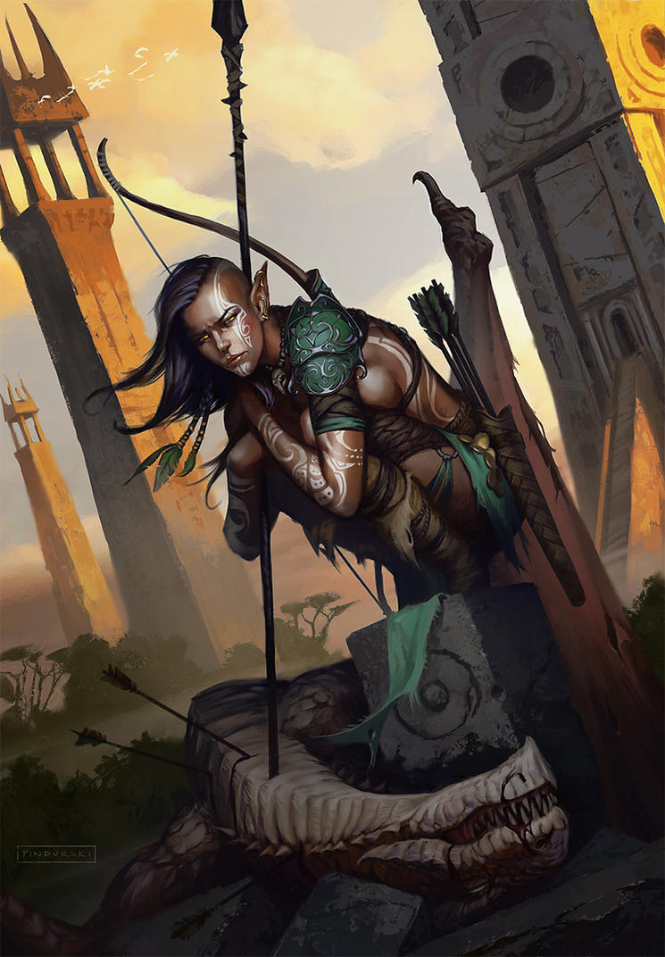 Savage Hunter by pindurski