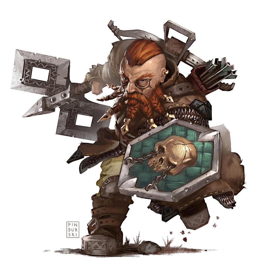 Pathfinder Point Buy >> Pathfinder: Dwarf by pindurski on DeviantArt