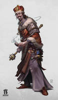 Pathfiner RPG Character: Grand Prince Stavian by pindurski