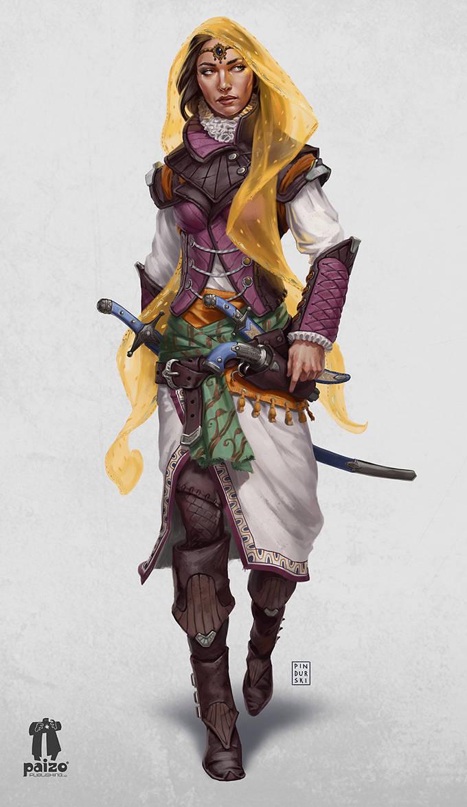 Pathfinder: War For The Crown 3 Martella Lotheed by pindurski