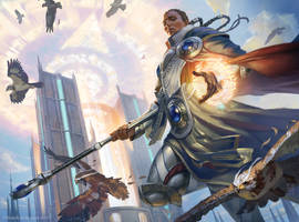 MTG Elite Guardmage by pindurski