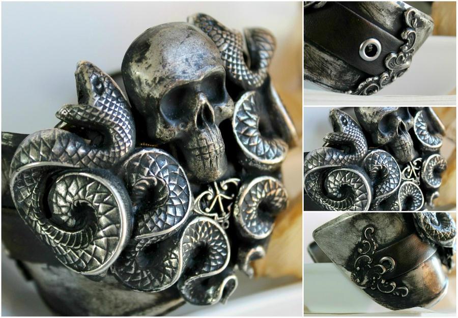 death eater cuff by JuleeMClark