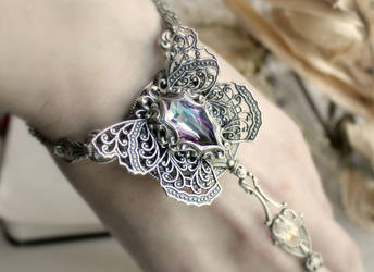 psyche slave bracelet by JuleeMClark