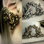quetzalcoatl ear cuff