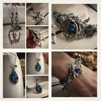 Sapphire Dragonfly by JuleeMClark