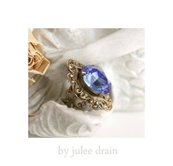 sapphire duchess ring by JuleeMClark