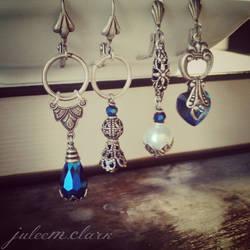 earrings love by JuleeMClark