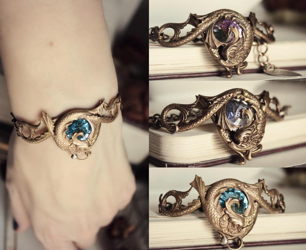 briony bracelets by JuleeMClark