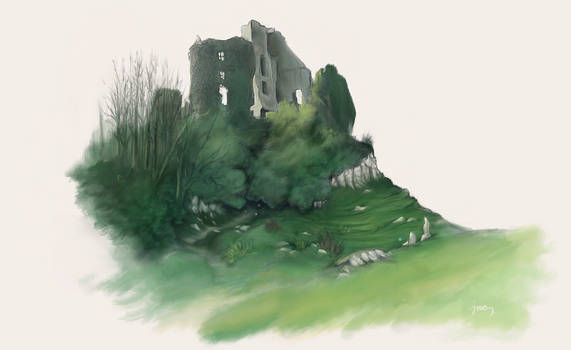 Ruins in the Downs