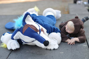 Lie on the floor by BeccaRedPanda