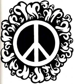 Peace logo -hippiness-