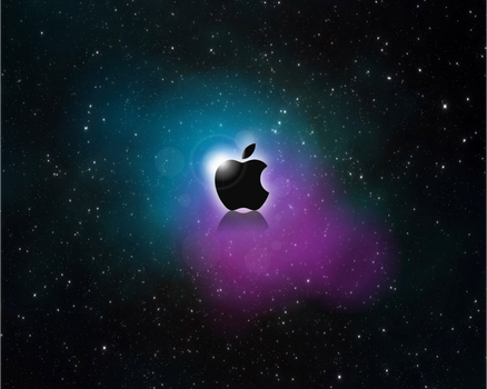 Wallpaper Apple Space
