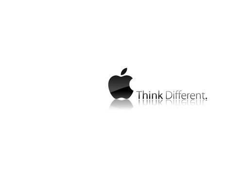 Wallpaper Apple Think