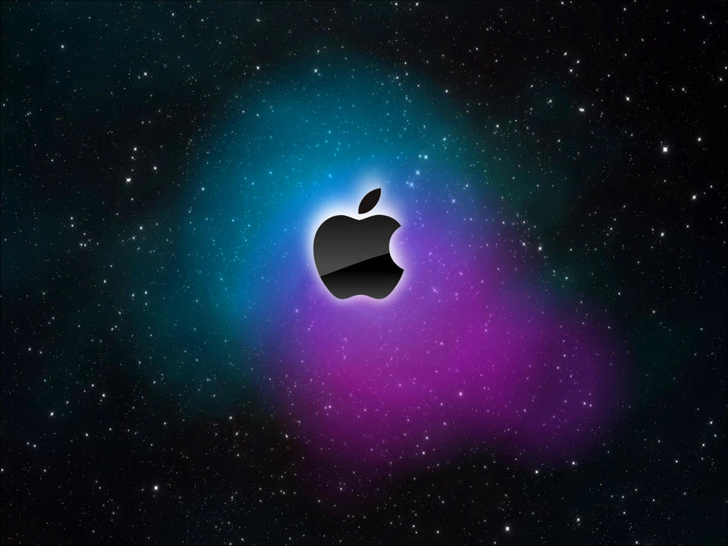 Wallpaper Apple Galaxy by jetc21