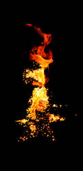Burning Star by williamdickeson