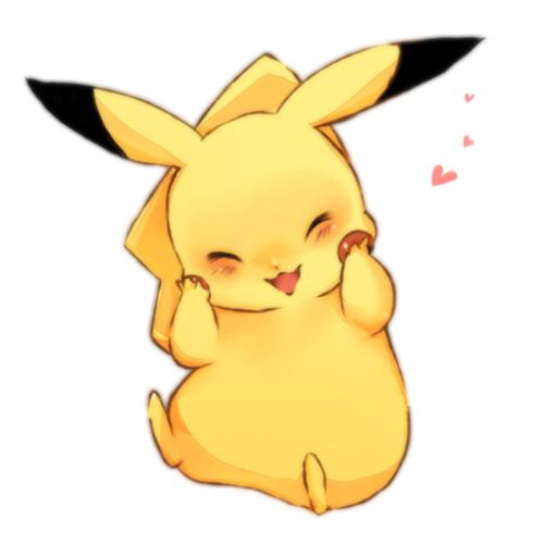 pikachu by ALura2