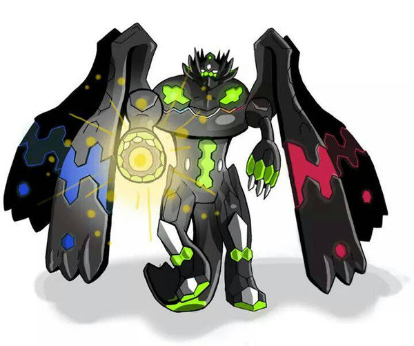 Zygarde 100 percent form by OutlineOutlaw on DeviantArt