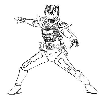 kamen rider coloring pages - photo#15