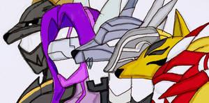 Digimon Warriors by RFyle119