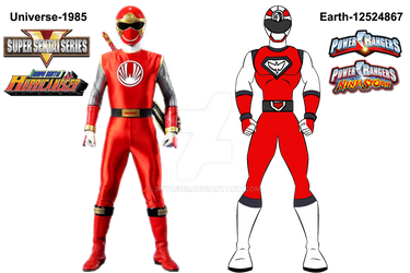Wind Rangers same concept but different version