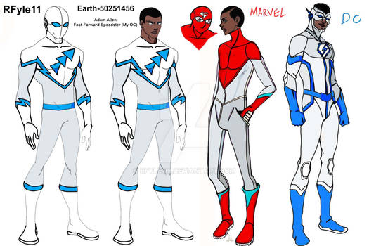 Adam from Different Earths character