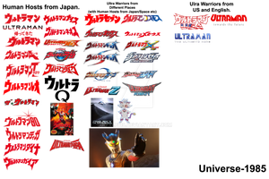 Ultramen Warriors Earth-1985