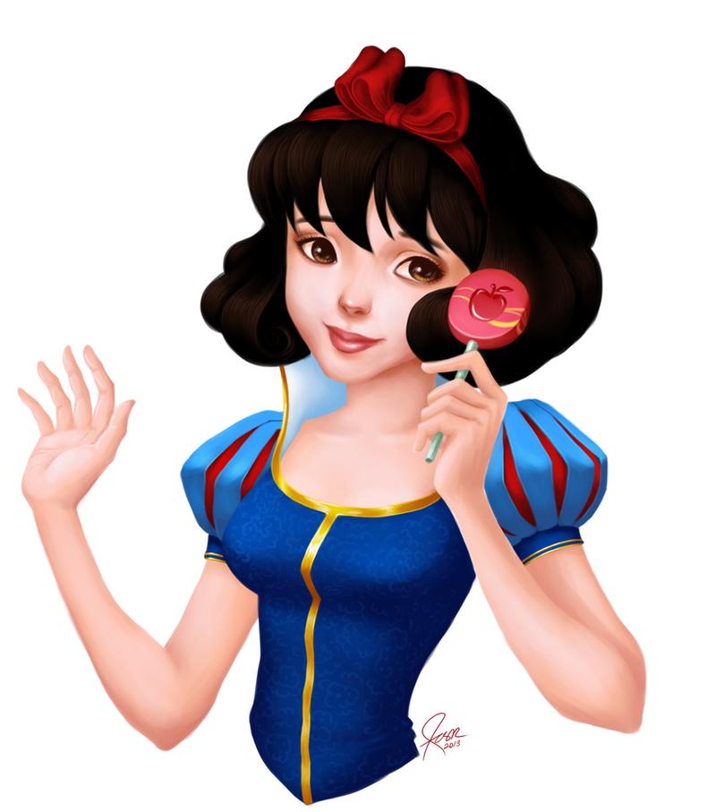 Snow White by annezca