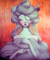 Ramen Lady by annezca