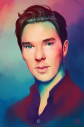 Benedict Cumberbatch by annezca