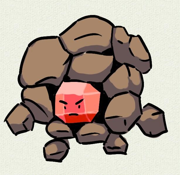 Rock Monster for Ludum Dare 48