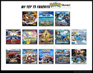 Undergrizer's Top 13 Pokemon Movies! by Undergrizer