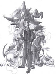 Commish: Pokemon Team by AJDrake