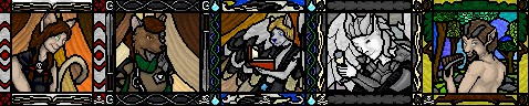 Christmas Gifts: Stained Glass Ports by AJDrake