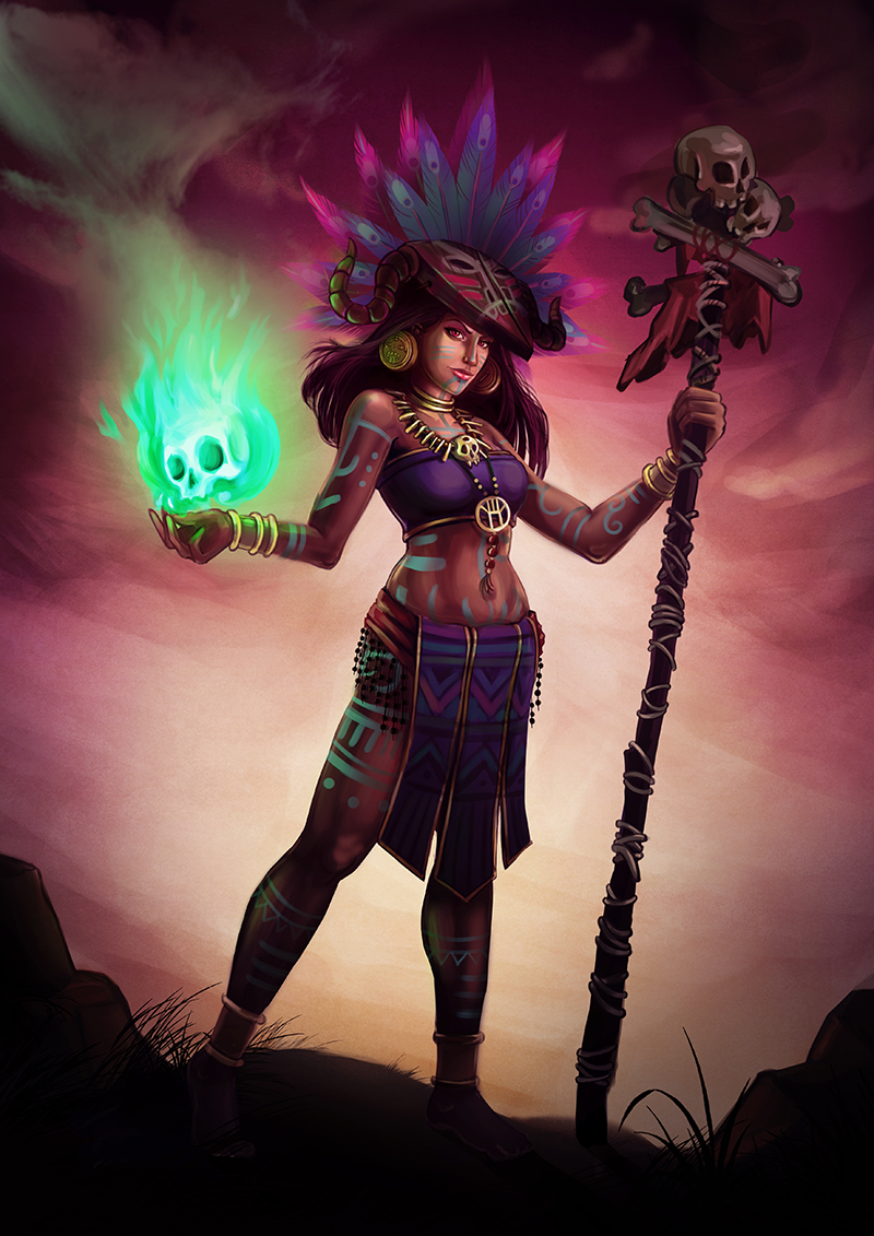 The Witch Doctor By Syarah On Deviantart