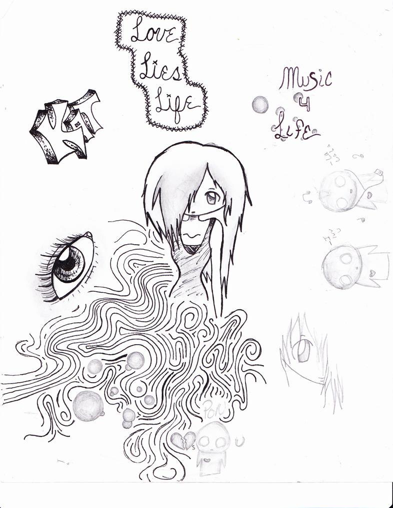 Boredom in Class 2 by xxKatherineRose on deviantART
