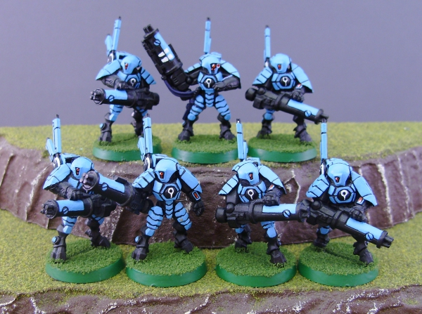 Tau Stealth Team 1 by Drazhar24