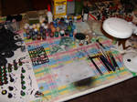 My Painting Table by Drazhar24